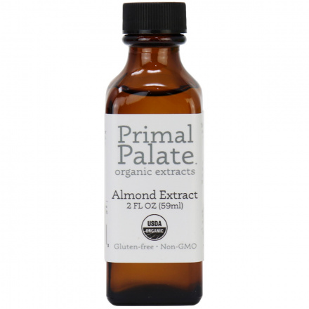 Primal Palate Organic Almond Extract, 59ml