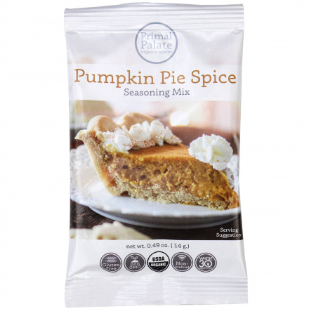 Primal Palate Organic Spices Pumpkin Pie Spice, 14g
