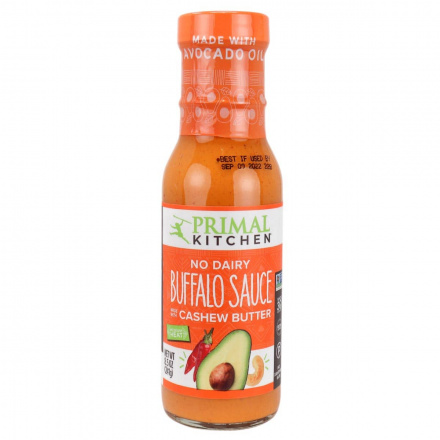 Front of Primal Kitchen Buffalo Sauce with Avocado Oil, 241g