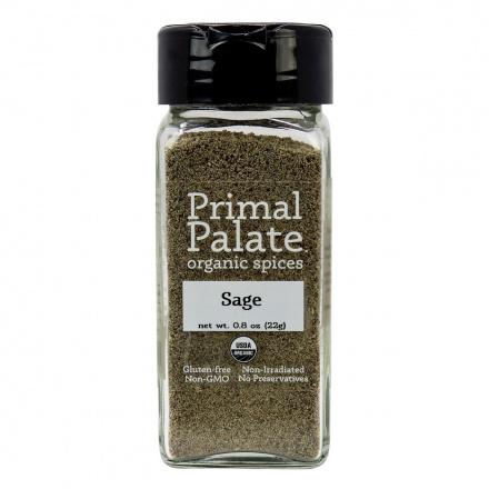 Primal Palate Organic Spices Sage, 22g