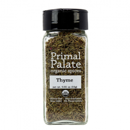 Primal Palate Organic Spices Thyme, 15g