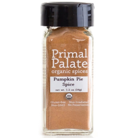 Primal Palate Organic Spices Pumpkin Pie Spice, 34g