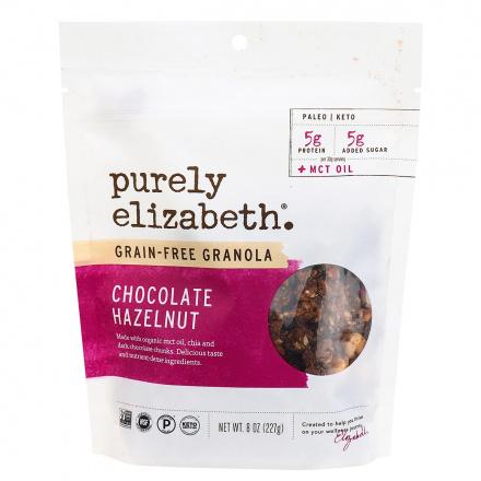 Purely Elizabeth Grain-Free Granola Chocolate Hazelnut, 227g
