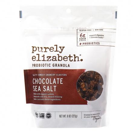 Purely Elizabeth Chocolate Sea Salt Probiotic Granola, 227g
