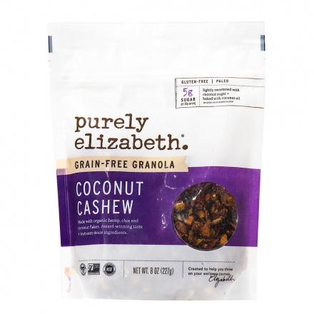 Purely Elizabeth Coconut Cashew Grain-Free Granola, 227g