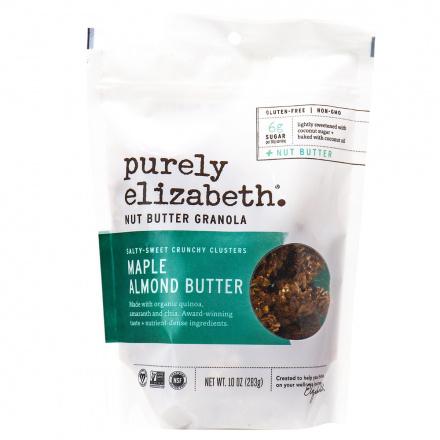 Purely Elizabeth Maple & Almond Butter Nut Butter Granola, 284g