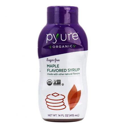 Pyure Organic Sugar Free Maple Flavored Syrup, 415ml