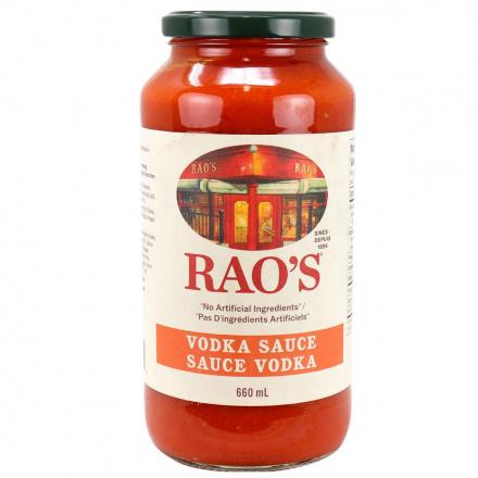 Front of Rao's Vodka Sauce, 680g