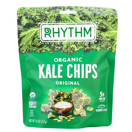 Rhythm Superfoods Organic Kale Chips Original, 57g