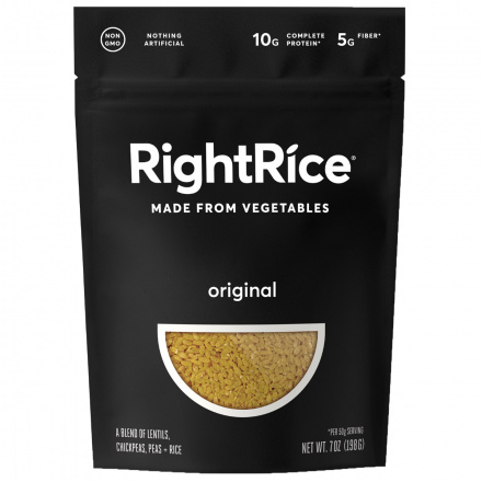 RightRice Original Rice Made from Vegetables, 198g