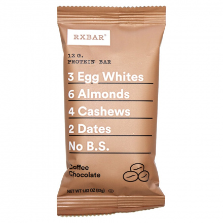 RXBAR Coffee Chocolate, 52g