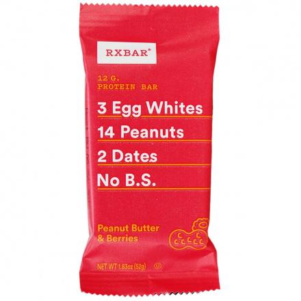 RX Bar Peanut Butter & Berries, 52g