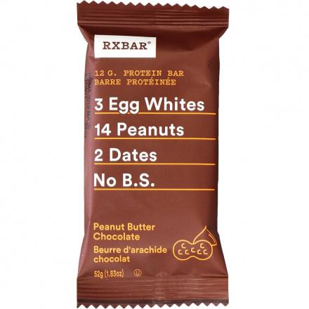 RX Bar Peanut Butter Chocolate, 52g