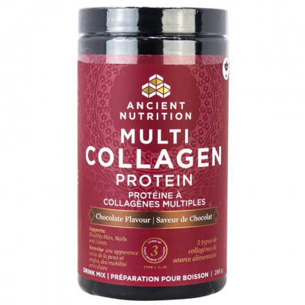 Ancient Nutrition Multi Collagen Protein - Chocolate, 286g