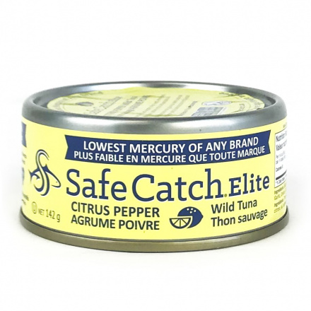 Safe Catch Canned Wild Tuna - Citrus Pepper, 142g