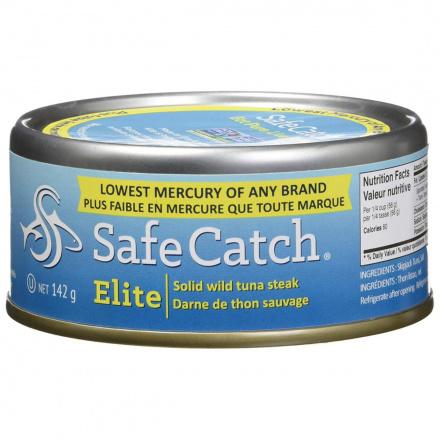 Safe Catch Elite Wild Skipjack Tuna, 142g