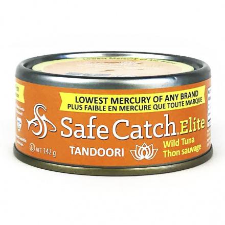 Safe Catch Canned Wild Tuna - Tandoori, 142g