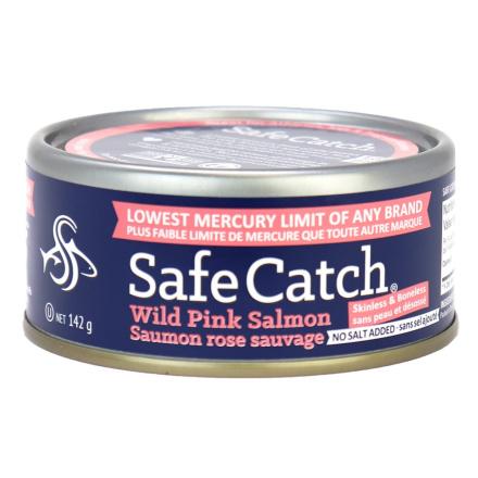 Safe Catch Alaskan Wild Pink Salmon - No Salt Added, 142g