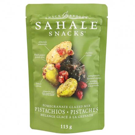 Sahale Gluten-Free Pomegranate Glazed Mix Pistachios, 113g