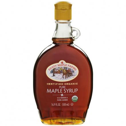 Shady Maple Farms Organic Pure Maple Syrup Grade A, 500ml