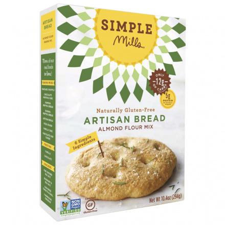 Simple Mills Artisan Bread Almond Flour Mix, 294g