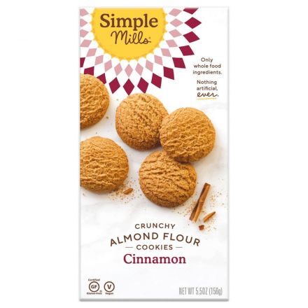 Simple Mills Grain-Free Crunchy Cookies Cinnamon, 156g