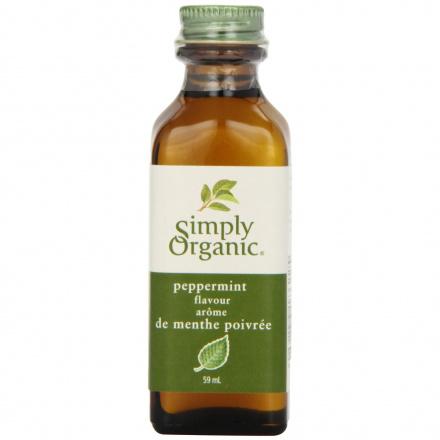 Simply Organic Peppermint Flavor, 59ml