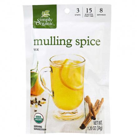 Simply Organic Mulling Spice, 34g