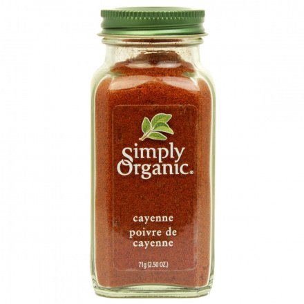 Simply Organic Cayenne Pepper Organic, 71g