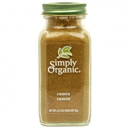 Simply Organic Cumin Seed Ground, 65g