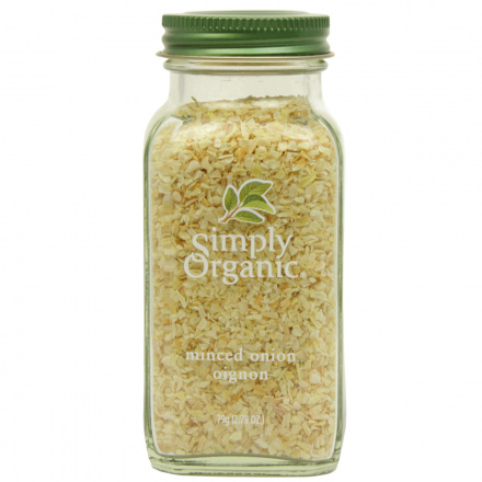 Simply Organic Onion White Minced, 79g