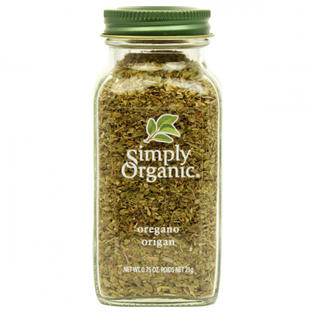 Simply Organic Oregano Leaf Cut & Sifted, 21g