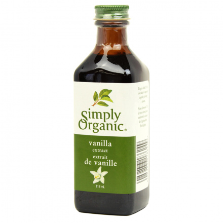Simply Organic Vanilla Extract, 118ml