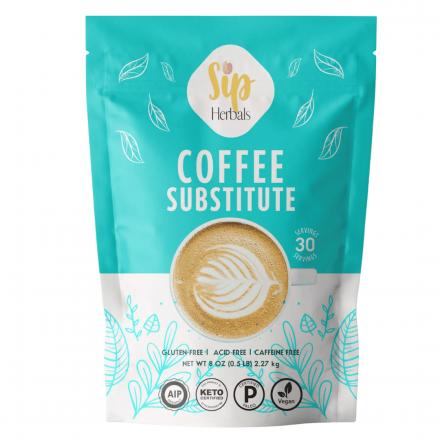 Front of Sip Herbals Coffee Substitute Original, 8 oz