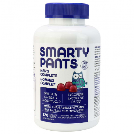 SmartyPants Multivitamins Men's Formula, 120 Gummies