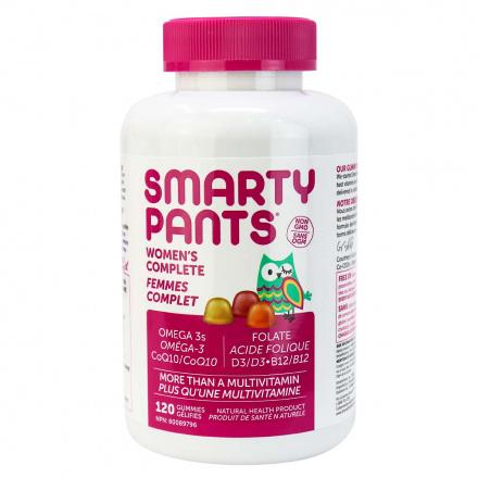 SmartyPants Multivitamins Women's Formula, 120 Gummies
