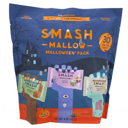 Front of Smashmallow Gluten Free Malloween Pack, 30 Treats