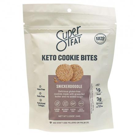 SuperFat Grain-Free Cookies Snickerdoodle, 64g