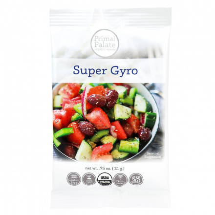 Primal Palate Organic Spices Super Gyro, AIP Friendly, 21g