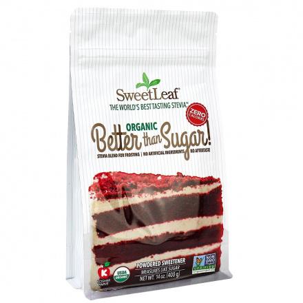 SweetLeaf Organic Better than Sugar! Powdered Sweetener for Frosting, 400g