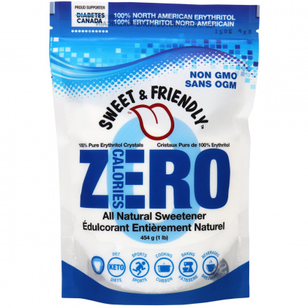 Sweet & Friendly 100% Pure Erythritol, 454g