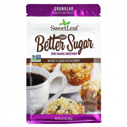 SweetLeaf Better than Sugar! Granular Sweetener for Baking, 360g