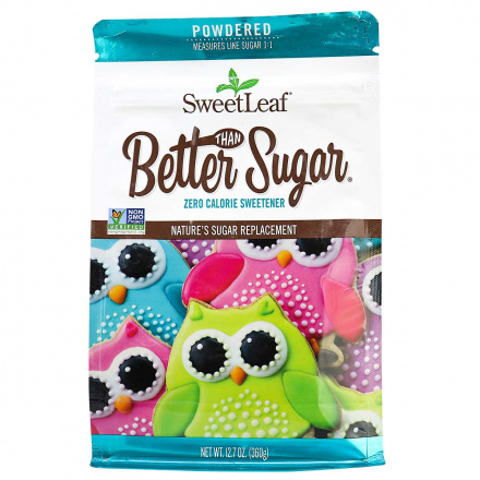 SweetLeaf Better Than Sugar! Powdered Sweetener for Frosting, 360g