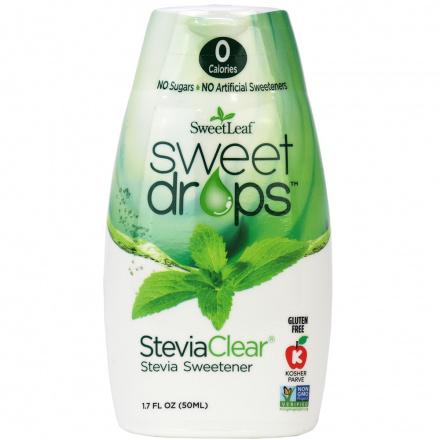 Sweetleaf Sweet Drops Clear, 50ml