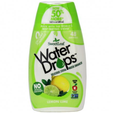 Sweetleaf Lemon Lime Water Drops, 48ml