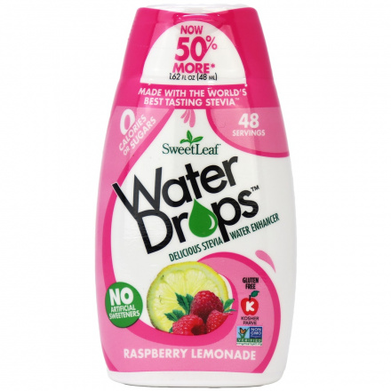 Sweetleaf Raspberry Lemonade Water Drops, 48ml