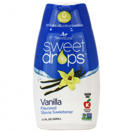 Sweetleaf Sweet Drops Vanilla, 50ml