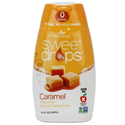 Sweetleaf Sweet Drops Caramel, 50ml