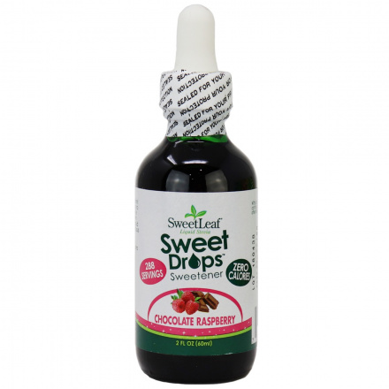 Sweetleaf Sweet Drops Liquid Stevia Chocolate Raspberry, 60ml