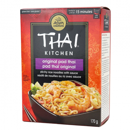 Thai Kitchen Pad Thai Stir-Fry Noodles with Sauce, 170g